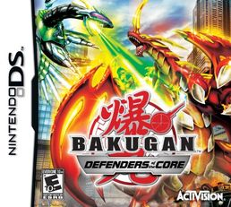 Bakugan: Defenders of the Core (DS)