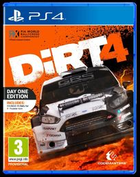 DiRT 4 - DayOne Edition (PS4)