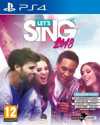 Let's Sing 2018 (sis. 2 mikrofonia) (PS4/NSW/Wii)