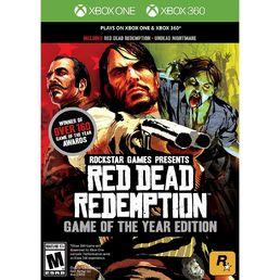 Red Dead Redemption: Game of the Year Edition (XB1/XB360) + Lehden tilaus