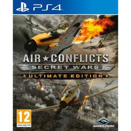 Air Conflicts: Secret Wars - Ultimate Edition (PS4) + Lehden tilaus
