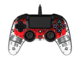 Nacon LED Red Comp.Controller (PS4)