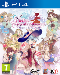 Nelke & the Legendary Alchemists: Ateliers of the New World (PS4, NSW)